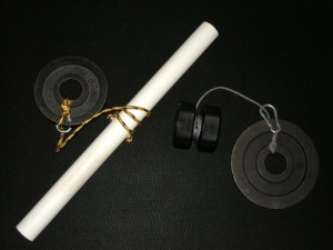 Homemade Wrist Roller (left) and Twist Yo' Wrist