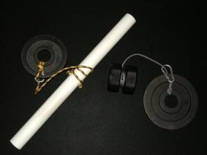 Homemade Wrist Roller (left) and Twist Yo' Wrist